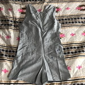 Gray play suit